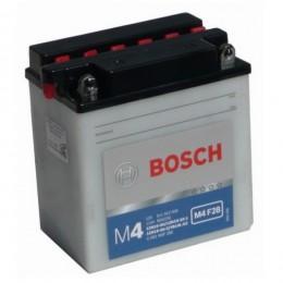 Мотоциклетный аккумулятор Bosch 0092M4F280 12V 11AH 90A 136x91x146mm