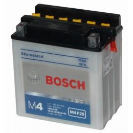 Мотоциклетный аккумулятор Bosch 0092M4F290 12V 11AH 90A 136x91x146mm