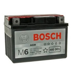 Аккумуляторная батарея Bosch 0092M60010 12V 3AH 30A 114x71x86mm