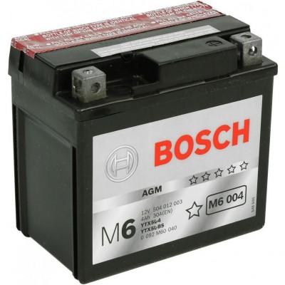 Аккумуляторная батарея Bosch 0092M60040 12V 4AH 30A 114x71x106mm