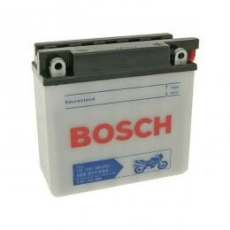Мотоциклетный аккумулятор Bosch 0092M4F190 12V 6AH 40A 136x61x131mm