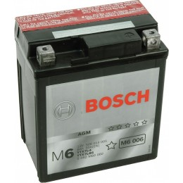 Аккумуляторная батарея Bosch 0092M60060 12V 6AH 50A 114x71x131mm