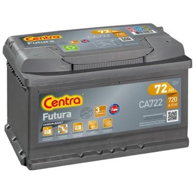 Аккумулятор Centra FUTURA CA722 72Ah 720A