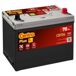 Аккумулятор Centra PLUS CB704 70Ah 540A