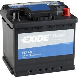 Аккумулятор Exide CLASSIC EC440 12V 44Ah 360A
