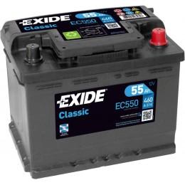 Аккумулятор для автомобиля EXIDE Classic EC550