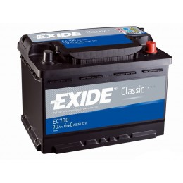 Аккумулятор EXIDE Classic EC700 70Ah 640A