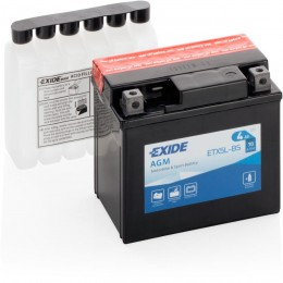 Аккумуляторная батарея Exide ETX5L-BS 12V 4Ah 70A 114x71x106mm