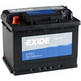 Аккумулятор для автомобиля Exide Classic EC551 55Ah 460A