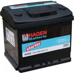Аккумулятор Hagen 54459 12V 44Ah 360A