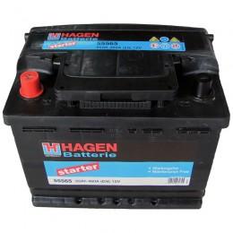Аккумулятор для автомобиля Hagen 55565 55Ah 460A