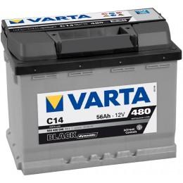 Аккумулятор для автомобиля Varta 556 400 048 Black Dynamic 56Ah 480A