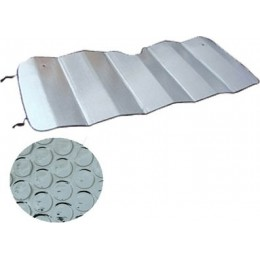 Защита от солнца шторка-фольга серебристая 130х60 Pilot 801