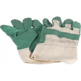 Перчатки рабочие зеленые ALCA 481000
