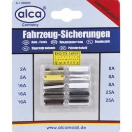 Предохранители пальчиковые в блистере (10шт.) ALCA 680000