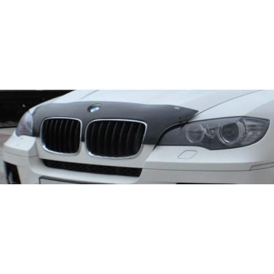 Дефлектор капота для BMW X5/X6 c 2007г.в. Novline NLD.SBMWX50712S