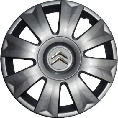 Колпаки колесные R15 модельные для Citroen, 4шт. WC48015