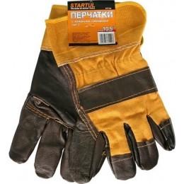 Перчатки с кожанными накладками тип 2 STARTUL ST7154