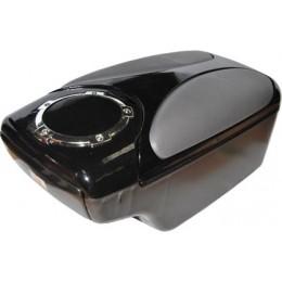 Подлокотник автомобильный черно-серый AR1100BKGYD