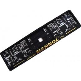 Рамка для номерного знака Mannol золото