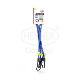 Ремни для крепления багажа эластичные синие HEYNER 881180 2шт.*80см