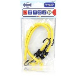 Ремни для крепления багажа эластичные желтые ALCA 882040 2шт.*40см
