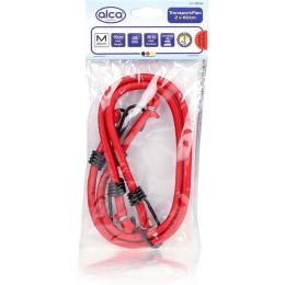 Ремни для крепления багажа эластичные красный (2шт.*60см) ALCA 882060