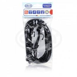 Ремни для крепления багажа эластичные черные ALCA 882100 2шт.*100см