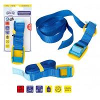Ремень для крепления багажа ленточный 25мм х 2м ALCA 405320