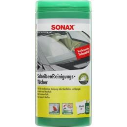 Салфетки для очистки стекол SONAX 412000 25шт.