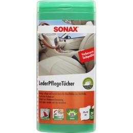 Салфетки для очистки кожи SONAX 412300 25шт.