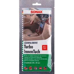 Салфетка для салона Sonax 413000 Clean & Drive Turbo