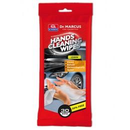 """Салфетки влажные для очищения рук """"Лимон"""" Dr. Marcus Hands Cleaning Wipes"""