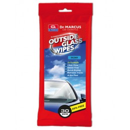 "Салфетки влажные для чистки стёкол снаружи ""Океан"" Dr. Marcus Otside Glass Wipes"