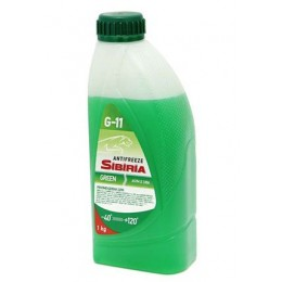 Антифриз зеленый Sibiria Green G11 1кг
