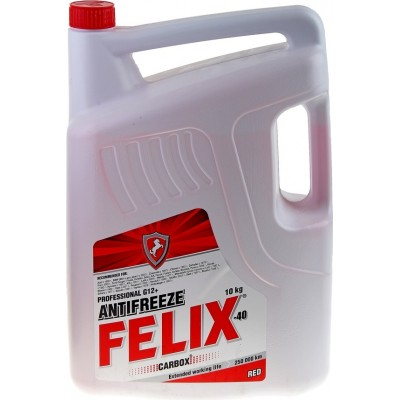 Антифриз красный FELIX CARBOX 10кг