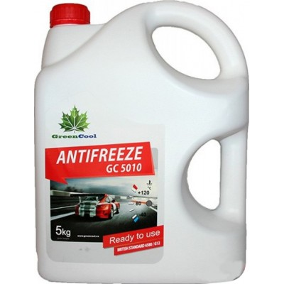 Антифриз Greencool 5010 красный 5кг
