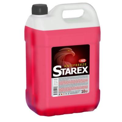 Антифриз красный Starex ANTIFREEZE R 10кг