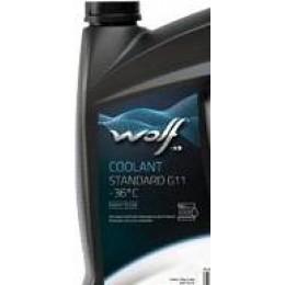 Антифриз синий WOLF 50100/1 COOLANT -36°C STANDARD G11 1кг
