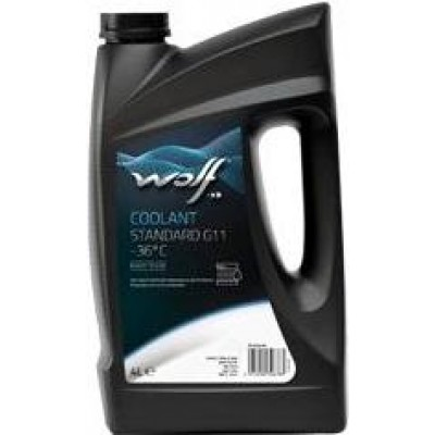 Антифриз синий WOLF 50100/4 COOLANT -36°C STANDARD G11 4кг