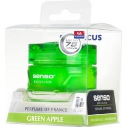 Ароматизатор гелевый Dr. Marcus Senso Deluxe Green Apple 50мл