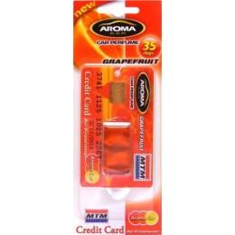 Ароматизатор жидкий Aroma Car Credit Card MTM Grapefruit