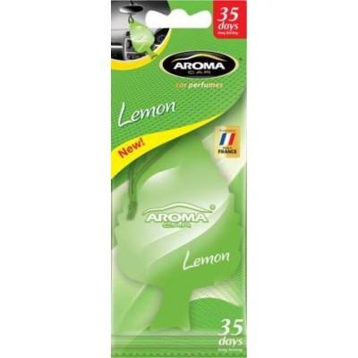 Ароматизатор сухой Aroma Car Leaf MTM Lemon