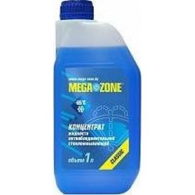 Жидкость антиобледенительная стеклоомывающая MegaZone -65С концентрат 1л