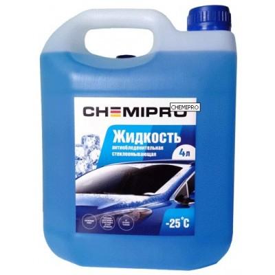 Жидкость для омывателя зимняя Chemipro -25°C 4л