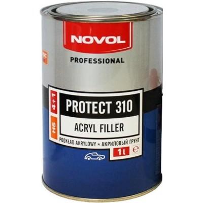 Акриловый грунт NOVOL PROTECT 310 4+1 белый 1л