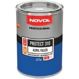 Акриловый грунт NOVOL PROTECT 310 HS 4+1 черный 1л