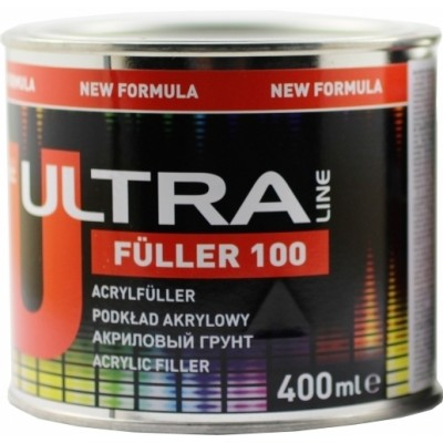 Грунт акриловый белый Novol 90262 ULTRA FULLER 100 5+1 0,4л