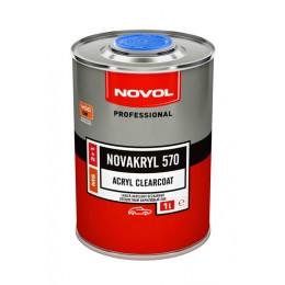 Бесцветный акриловый лак Novol 38071 NOVAKRYL 570 2+1 1л