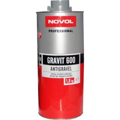 Антигравийное покрытие Novol 37818 GRAVIT 600 MS серое 1,8кг